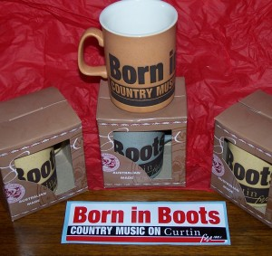 Born in Boots Mugs
